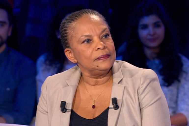 Christiane Taubira sur le plateau d'ONPC samedi 6 février