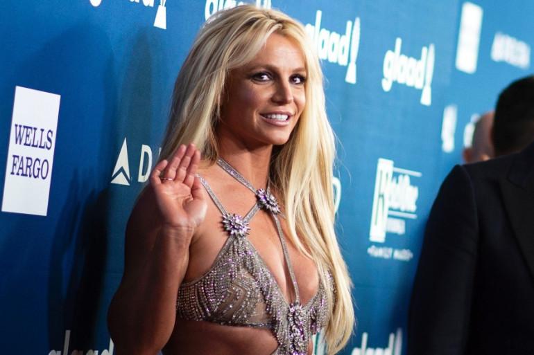 Britney Spears en avril 2018