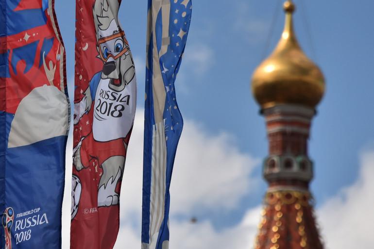 La Coupe du Monde de football se tient en Russie jusqu'au 15 juillet 2018
