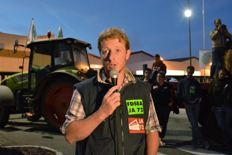 Étienne Fourmont, agriculteur et youtuber, en 2016