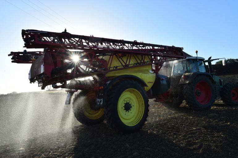 Un agriculteur français, mai 2018