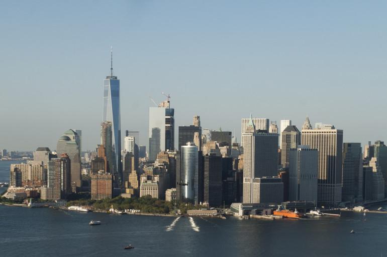 Une vue de Manhattan à New York (Etats-Unis)