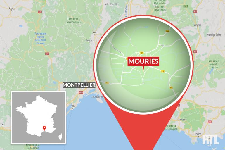 Mouriès, dans les Bouches-du-Rhône