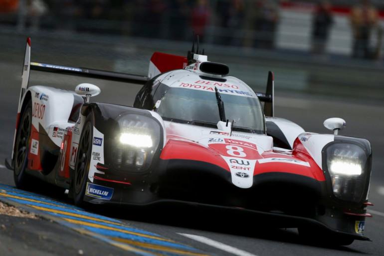 La Toyota numéro 8 au Mans