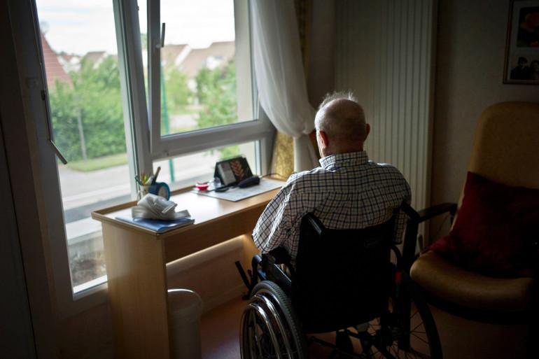 Une personne âgée (photo d'illustration).