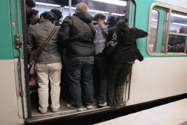 Une rame de métro de la RATP (illustration)