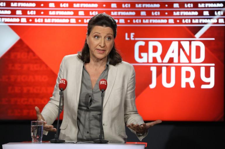 """Agnès Buzyn lors de son """"Grand Jury"""" dimanche 17 juin 2018"""
