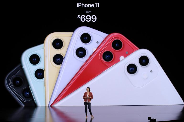 Apple a dévoilé l'iPhone 11 le 10 septembre 2019 à Cupertino