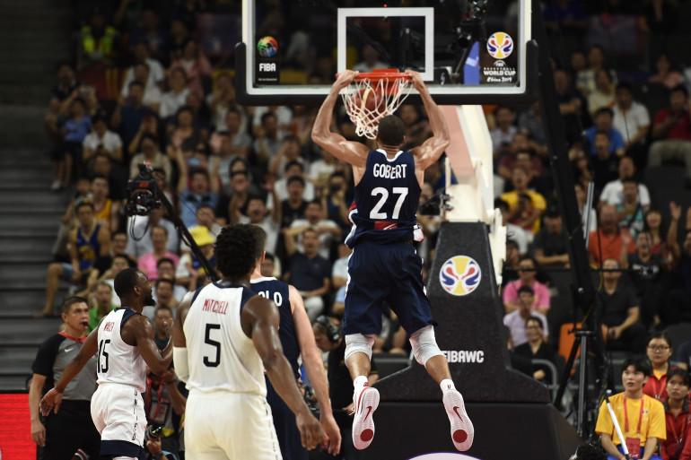 Dunk de Rudy Gobert face aux États-Unis en quart de finale du Mondial 2019