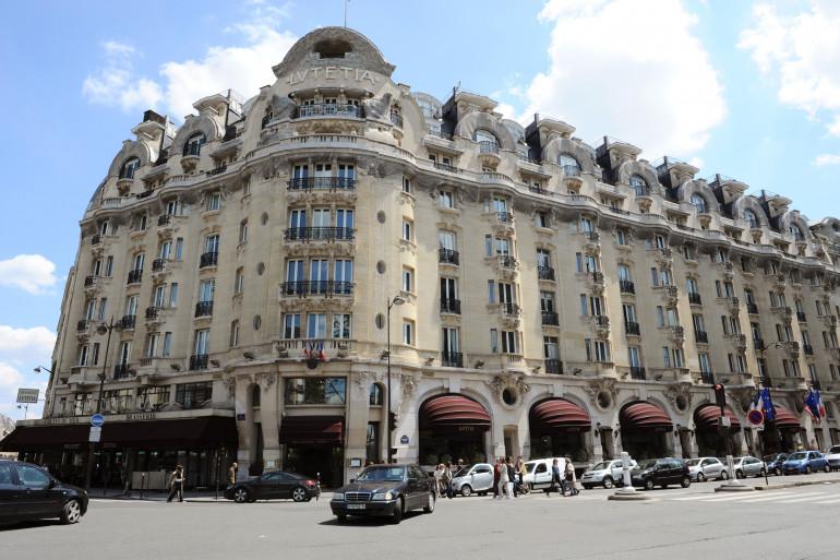L'hôtel Lutetia, à Paris