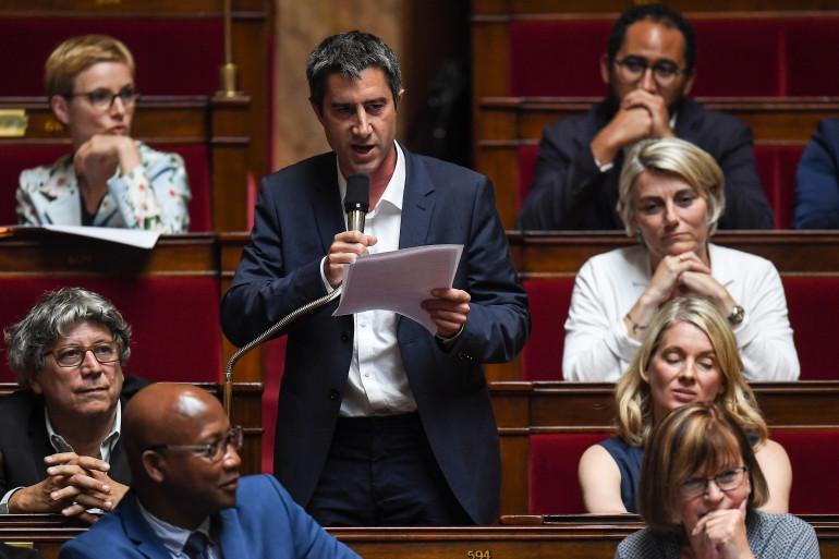 François Ruffin à l'Assemblée nationale.