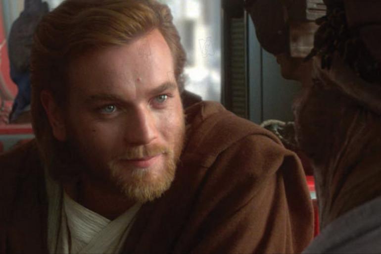 """Ewan McGregor dans """"Star Wars : L'attaque des clones"""""""