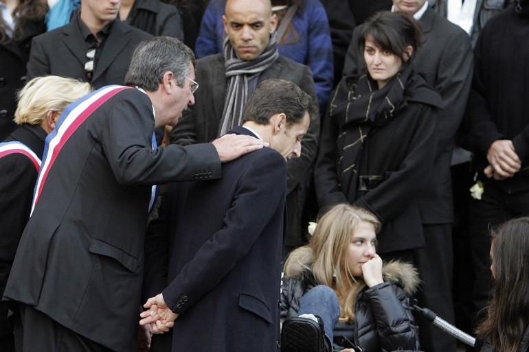 Patrick Balkany et Nicolas Sarkozy le 2 mars 2009
