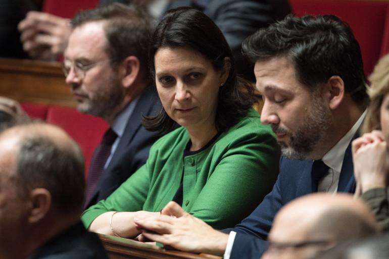 La députée LREM Isabelle Rauch, à l'Assemblée nationale, le 21 mars 2018.
