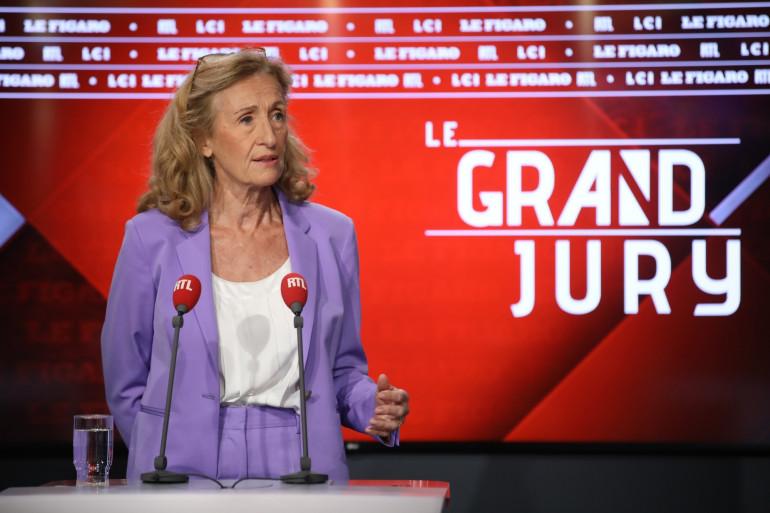 Nicole Belloubet, ministre de la Justice, dans le Grand Jury RTL le 15 septembre 2019