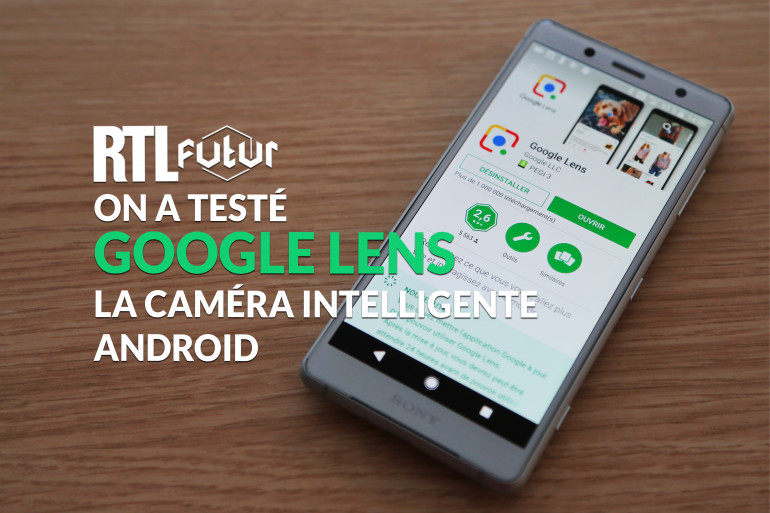 Google Lens scanne le monde à travers la caméra des smartphones Android