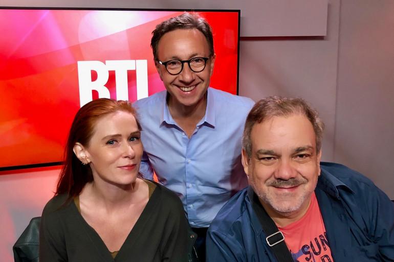 Audrey Fleurot, Stéphane Bern et Didier Bourdon