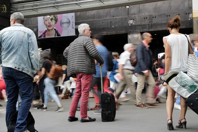 Gare Montparnasse (illustration)