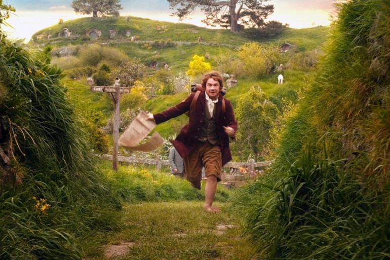 """Bilbo Sacquet partant à l'aventure, """"Le Hobbit"""""""