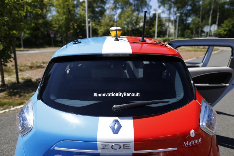 Rouen est la première ville d'Europe a mettre en place un service à la demande de voitures autonomes.