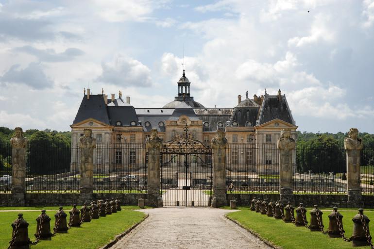 Le château de Vaux-le-Vicomte en Seine-et-Marne
