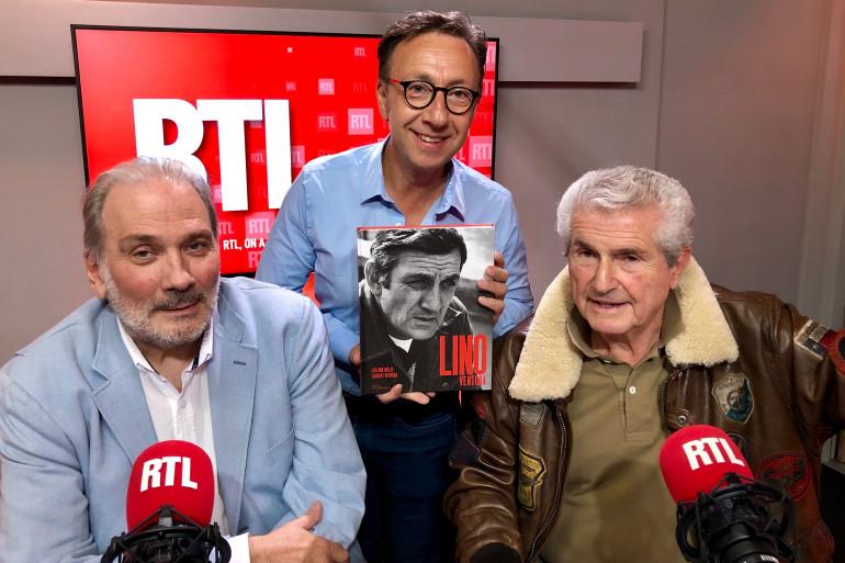 Laurent Ventura et Claude Lelouch
