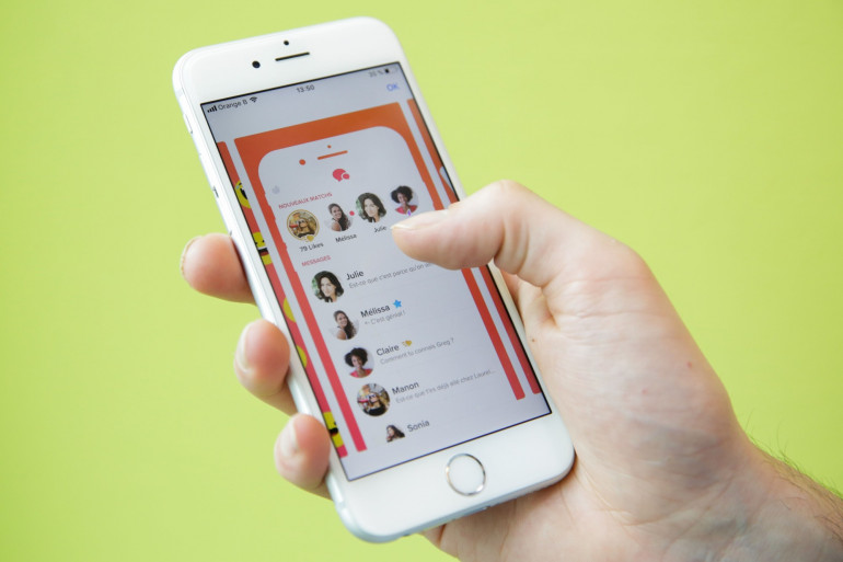 L'application Tinder (illustration)