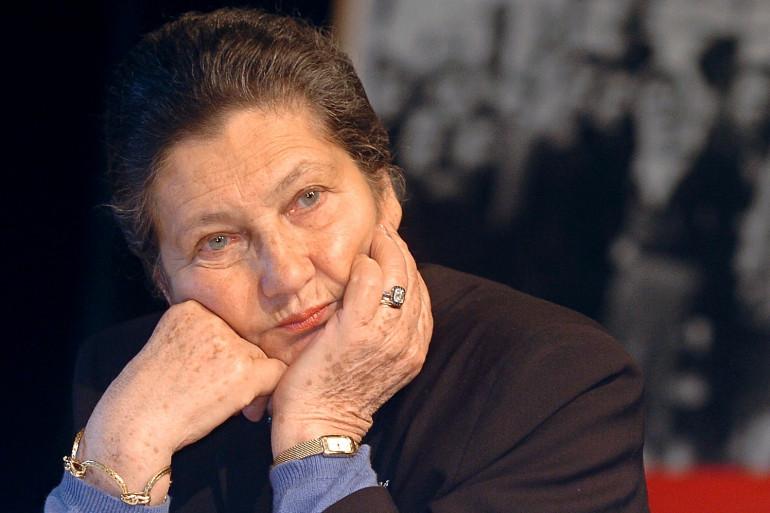 Simone Veil, le 25 janvier 2005