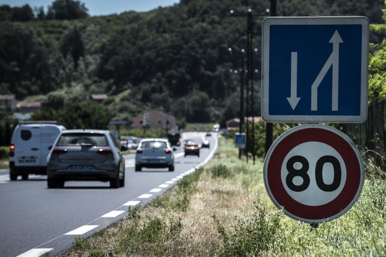 Dès le dimanche 1er juillet, la vitesse va être limitée à 80km/h sur les routes secondaires sans séparateur central.