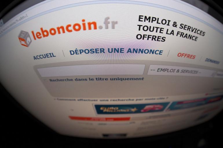 La page d'accueil du site Leboncoin.fr (Illustration)