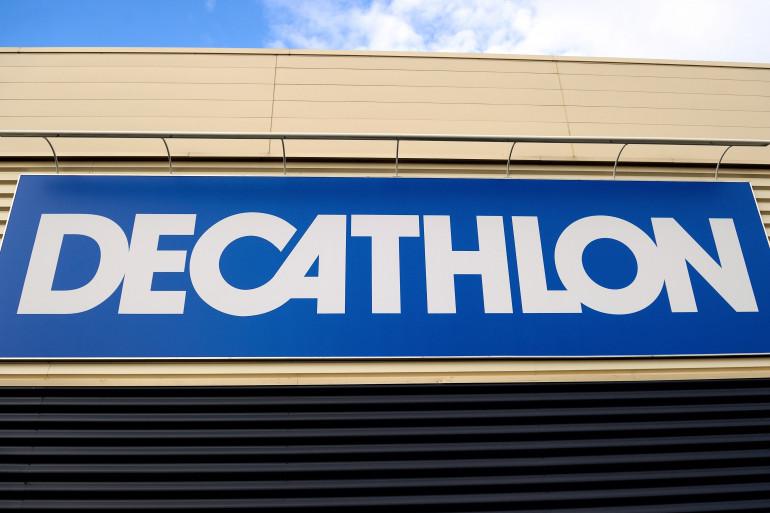 La devanture d'un magasin Décathlon (illustration)
