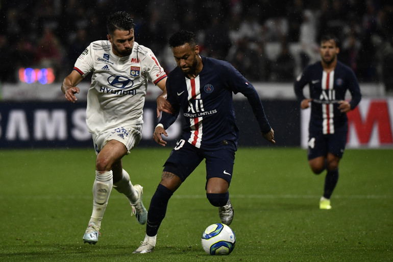 Le PSG face à Lyon le 22 septembre 2019