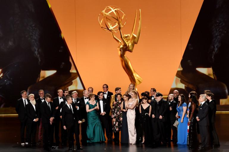 """Toute l'équipe de """"Game of Thrones"""" aux Emmys 2019"""