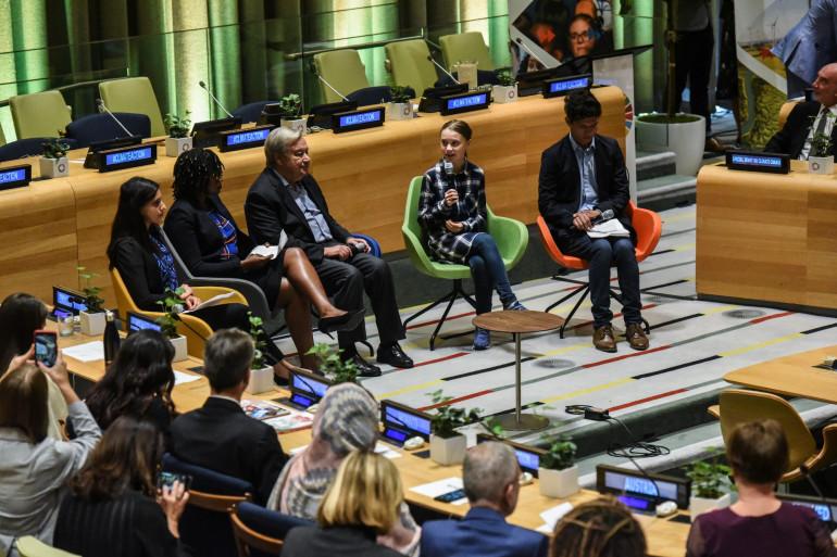 Le sommet de la jeunesse pour le climat s'est tenu le 21 septembre à New York