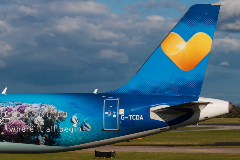 Un avion aux images de Thomas Cook (image d'illustration)
