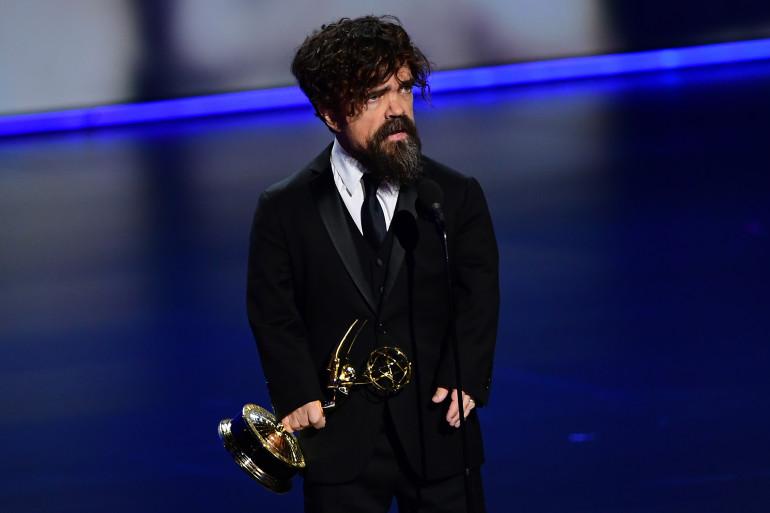 Peter Dinklage sur la scène de la 71e cérémonie des Emmy Awards