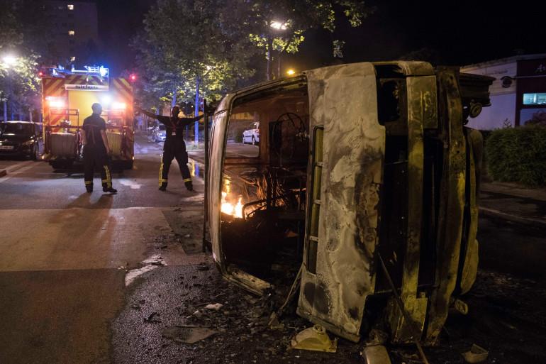 Des émeutes ont éclaté le 3 juillet 2018 à Nantes