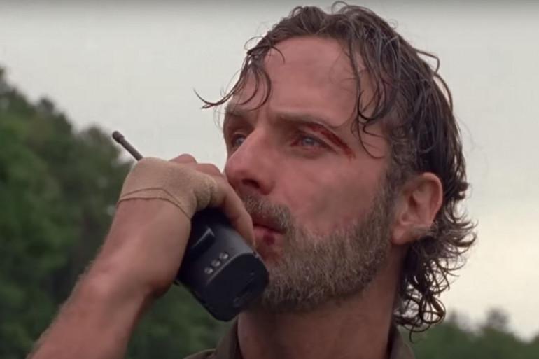 """Le départ de Rick Grimes de """"The Walking Dead"""" se précise"""