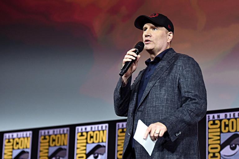Kevin Feige à la Comic Con de San Diego le 20 juillet 2019