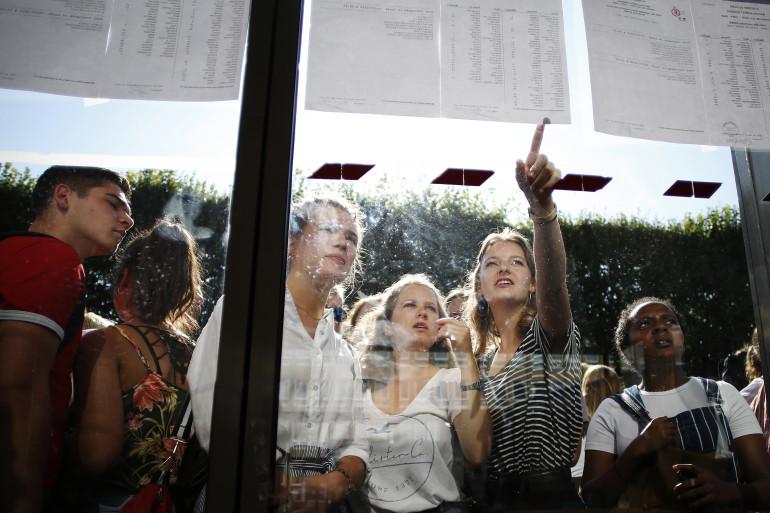 Le 6 juillet, près de 750.000 lycéens ont reçu leurs résultats du baccalauréat