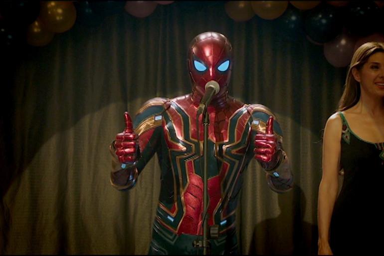 Spider-Man incarné par Tom Holland