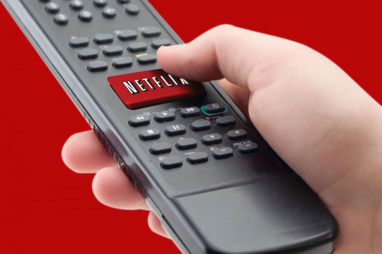 Un utilisateur de Netflix