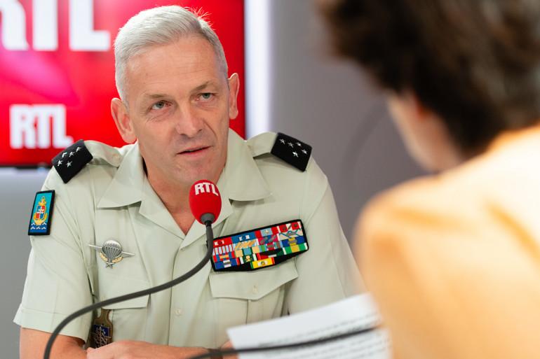 François Lecointre, invité de RTL le 18 juillet 2018.