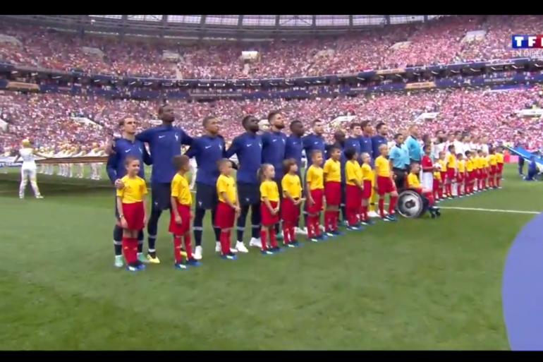 Les Bleus entonnent La Marseillaise avec France-Croatie, dimanche 15 juillet