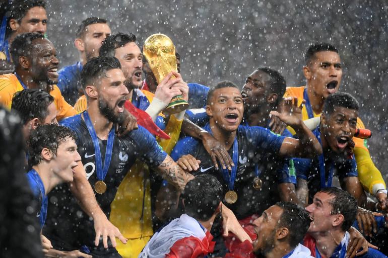 La France est sacrée championne du monde pour la 2e fois dimanche 15 juillet 2018