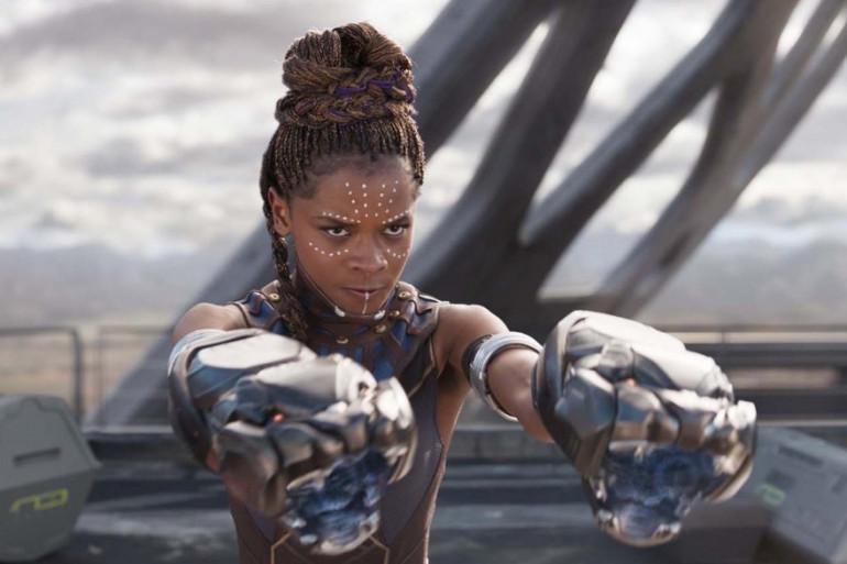 """Letitia Wright incarne la scientifique et guerrière Shuri dans """"Black Panther"""""""