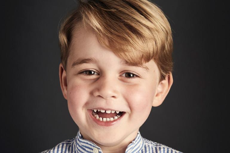 Le prince George fête ses 5 ans, ce dimanche 22 juillet