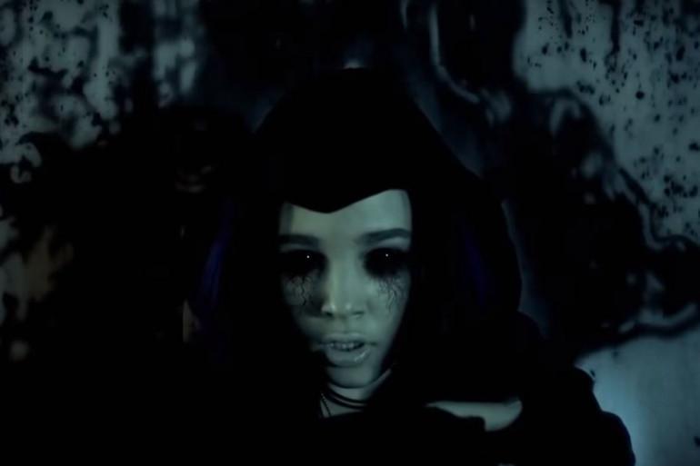 """La super-héroïne Raven dans la série """"Titans"""""""
