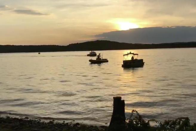 Lac de Table Rock (États-Unis) où a eu lieu le naufrage le 19 juillet 2018