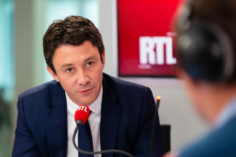 Benjamin Griveaux, invité de RTL le 23 juillet 2018.